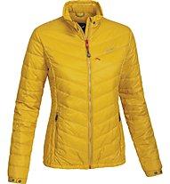Salewa Pordoi giacca PrimaLoft donna, Nugget Gold