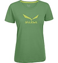 Salewa Solidlogo T-Shirt arrampicata donna, Assenzio