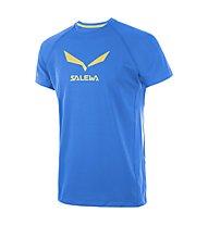 Salewa Solidlogo DRY T-Shirt arrampicata uomo, Royal Blue