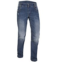 Salewa Verdon pantaloni arrampicata denim donna, Jeans Blue