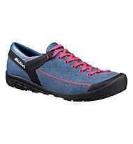 Salewa WS Alpine Road - scarpe donna, Washed Denim/Fuchsia