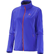Salomon Discovery Fz Giacca in pile donna, Phlox Violet