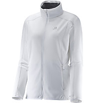 Salomon Discovery Fz Damen Fleecejacke, White