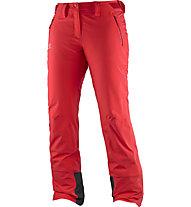 Salomon Pantaloni sci Iceglory W, Infrared