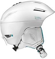 Salomon Icon2 - casco sci donna, White
