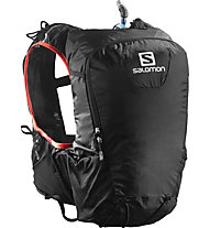 Salomon Skin Pro 15 Set - Rucksack, Black/Bright Red