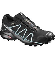 Salomon Speedcross 4 GTX Woman Damen Traillaufschuh, Black/Blue
