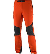 Salomon Wayfarer Mountain Pant Herren Trekkinghose, Orange/Black