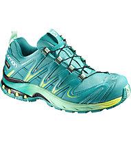 Salomon XA Pro 3D GORE-TEX Trail Running Schuh Damen, Teal Blue