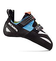 Scarpa Boostic - scarpetta arrampicata, Cyan/Spring/Parrot
