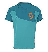 Scott AMT S/SL Shirt, Medium Blue/Orange