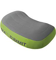 Sea to Summit Aeros Premium Cuscino, Grey/Green