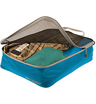 Sea to Summit Travellinglight Garment Mesh Bag - Porta camicie, Blue/Grey