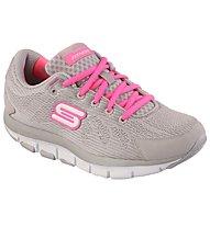 Skechers Shape Ups Liv Damen, Light Grey/Pink