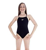 Speedo End+rlbk Schwimmanzug Mädchen, Navy