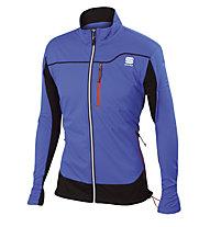 Sportful Giacca sci fondo Engadin Wind Jacket, Light Blue