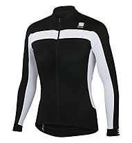 Sportful Jersey bici Pista Long Sleeve Maglia a maniche lunghe ciclismo, Black