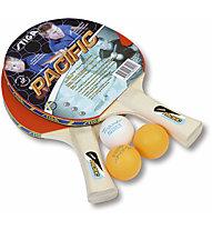 Stiga Set racchette ping pong Pacific, Red/Blue