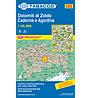 Tabacco N° 025 Dolomiti di Zoldo, Cadorine e Agordine (1:25.000), 1:25.000