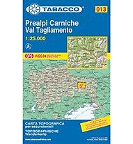 Tabacco N° 013 Prealpi Carniche - Val Tagliamento (1:25.000), 1:25.000