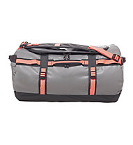 The North Face Base Camp Duffel S (2016) - borsone, Zinc Grey/Tropical Coral