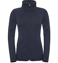 The North Face Crescent full zip Damen Fleecejacke, Blue