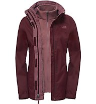 The North Face Evolve II Triclimate Jacket Giacca Hardshell, Red