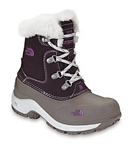 The North Face Girl's McMurdo Boot, Baroque Purple/Moonlight Ivory
