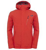 The North Face Descendit Skijacke, Fiery Red