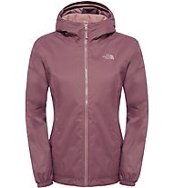 The North Face Quest Insulated Jacket Giacca con cappuccio, Pink