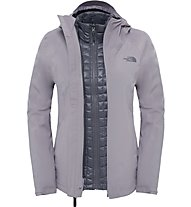 The North Face Thermoball Triclimate Jacket Giacca doppia, Grey