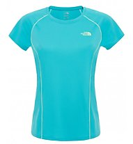 The North Face W Voltage SS Tee T-Shirt Fitness Donna, Dark Blue