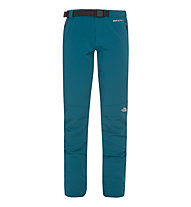 The North Face Women's Diablo Pant Pantaloni lunghi Softshell donna, Prussian Blue