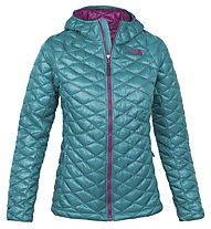 The North Face ThermoBall giacca con cappuccio donna, Fanfare Green