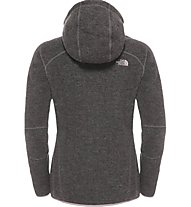 The North Face Zermatt Full Zip Hoodie Giacca in pile donna, Pink