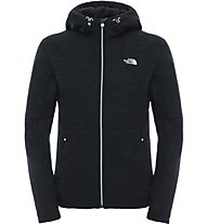 The North Face Zermatt Full Zip Hoodie Giacca in pile, Black