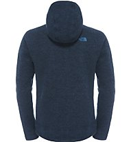 The North Face Zermatt Full Zip Hoodie Giacca in pile, Blue