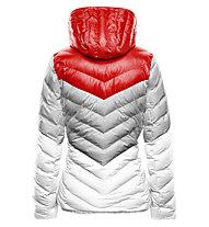 Toni Sailer Emily Damen-Skijacke, Pink Red/Bright White Silver
