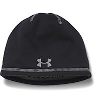 Under Armour Elemnts 2.0 Beanie berretto fitness bambino, Black