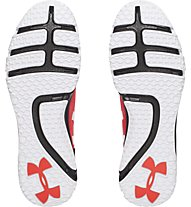 Under Armour Charged Ultimate Low Tr Trainingsschuh Männer, Rocket Red/Black