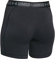 Under Armour HeadGear Armour Middy pantaloncini da corsa donna, Black