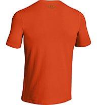Under Armour Linear Script T-Shirt Jungen, Red