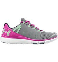 Under Armour Micro G Limitless Trainer - Turnschuh Damen, Steel/Harmony Red