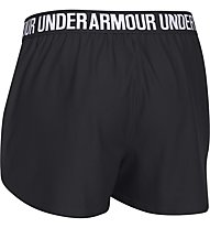 Under Armour Short UA Play Up Pantaloni corti fitness donna, Black/White
