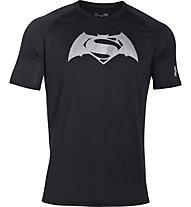 Under Armour Superman vs Batman T-Shirt, Black