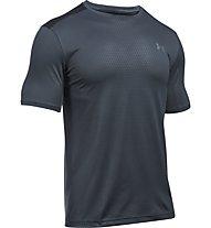 Under Armour UA Raid Microthread Fitness-/Trainingsshirt Herren, Grey
