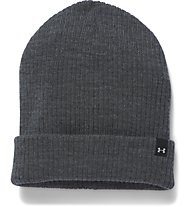Under Armour UA Favorite Knit Berretto fitness donna, Grey Heather