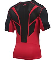 Under Armour UA HeatGear CoolSwitch Supervent maglia a compressione, Red