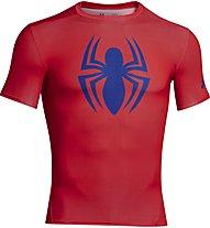 Under Armour Alter Ego Compression Shirt S/S, Spider (Volcano)