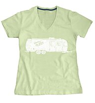 United By Blue Airstream T-shirt Damen, Lime